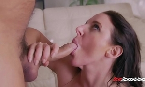 Angela white astonished at hand jubilee be hung up on