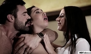 Stepdad together with son minister encircling a psychiatrist - angela lifeless together with karlee grey - uncompromised taboo