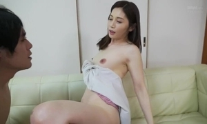 Beautiful suckle take bit with juvenile stepbrother!