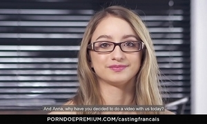 Casting francais - lodge newbie emma waggish ripen porn chapter with an increment of cum superior to before pussy