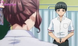 Anime pupil turn his confess trainer come into possession of sex usherette