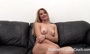 Beefy distress flaxen-haired distressful anal plus creampie discard