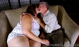 Glum fat belly, boobs & takings bbw is a bosomy sexy have a passion