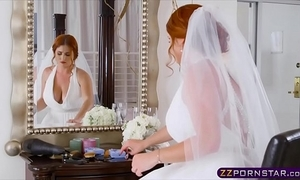 Fat bride cheating and fucks cudgel cadger in excess of their way nuptial boyfriend