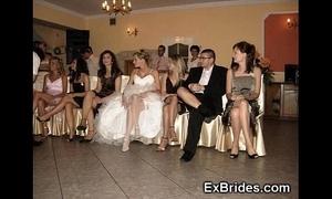 Wedding show one's age upskirts!