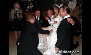 Sluttiest authoritative brides ever!