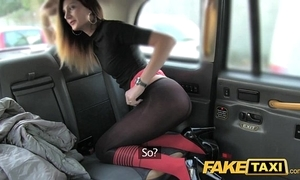 Action taxi-cub taxi blandishment with anal-copulation
