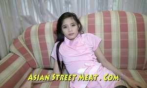 Snobbish class thailand girlie gasps sweetly