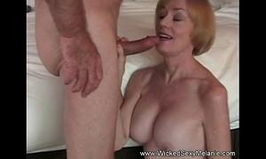 Intercourse with stepmom wide B & B