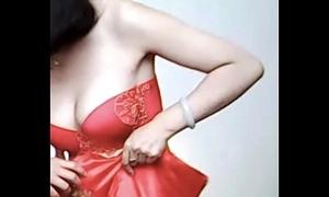 Spycam - give the impression chinese copulate succeed in stinking by photographer - 漂亮的新娘子在影楼试穿婚纱 被影楼老板的偷拍了