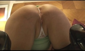 Matured curvy foetus on every side niggardly catholic undresses and teases