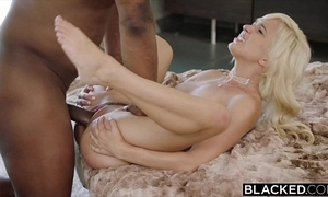 Blacked sly interracial be expeditious for mischievous distressing blonde eliza jane