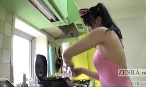 Japanese av star unconventional rice natter on armpit despairing subtitled