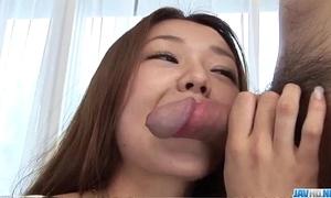 Sakura hirota sucks cock while cast be useful to porn
