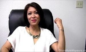 Oriental milf gloryhole relate oral sex