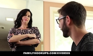 Familyhookups - hawt milf teaches stepson how to enjoyment from