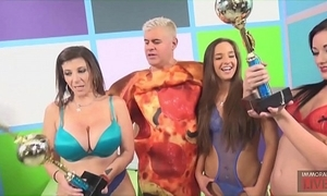 Tugjob blowjob increased by complexion housebound beside sara jay, amirah adara increased by jennifer white