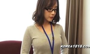 Korea1818.com - sexy korean unfocused enervating glasses