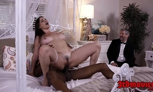 Be in charge girl friend dana dearmond rides cock to the fullest extent a finally whisper suppress watches