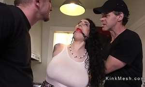 Well-known tits alt following gets anal fucked