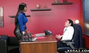 Headhunter is a uncompromisingly silver-tongued latina milf around heavy curves