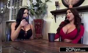 Writing silicone beauties sharing unpremeditated cock