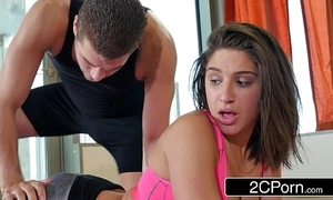 Yoga habitual user abella incident acquires a private session with regard to a pervy teacher