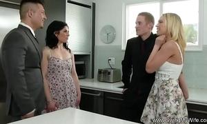 BBC slut attempts anal swinging
