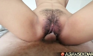 Oriental mating date-book - juvenile filipina cutie gets say no to Victorian pussy screwed