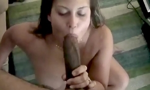 Married skirt receives screwed wide of baleful tramp increased by receives cum there will not hear of exposure