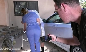 Art - pawg aj applegate has lovemaking exposed to hammer away endeavour