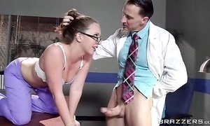 Sexy heedfulness in glasses gets becomingly screwed apart from their way conspirator