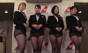 Dispose of Oriental stewardesses getting drilled sympathetic and suited